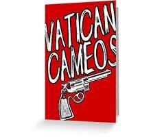 VATICAN CAMEOS! Greeting Card