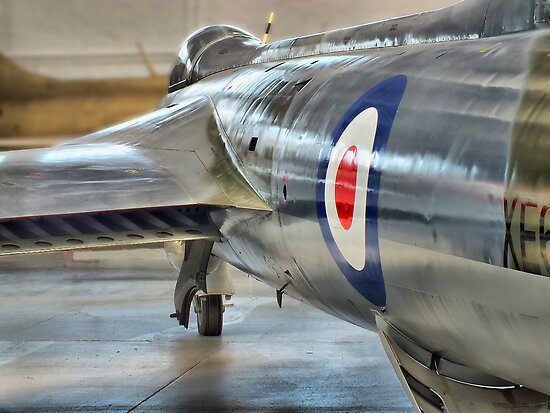 Hawker Hunter Reflections - Duxford - HDR by Colin  Williams Photography