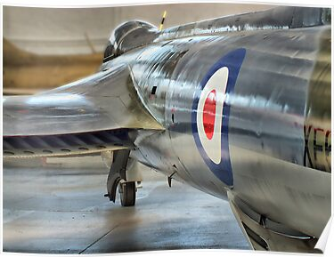 Hawker Hunter Reflections - Duxford - HDR by Colin J Williams Photography