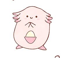 Chansey Card by Stephanie Hodges