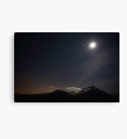Glencoe Starscape Canvas Print