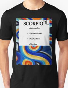 abstract scorpio horoscope shirt T-Shirt