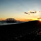 Brighton West Pier by RuariFieldPics