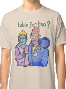 Table for two Classic T-Shirt