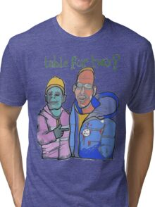 Table for two Tri-blend T-Shirt