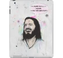 Happy Jesus iPad Case/Skin