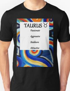 abstract taurus horoscope shirt T-Shirt