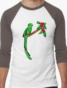 Quetzal Men's Baseball ¾ T-Shirt