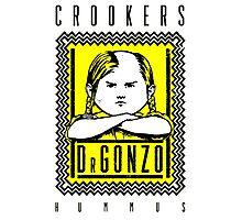 Crookers - Hummus Photographic Print
