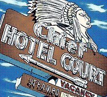 Chief Hotel Court Pop Style by Anthony Ross