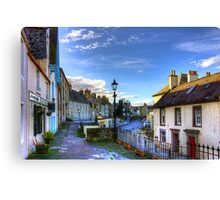 The High Street from East Terrace Canvas Print