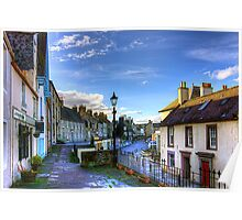 The High Street from East Terrace Poster