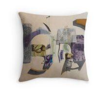 Cubo-Metaphysical Sacra Conversazione Throw Pillow