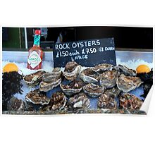 Oyster Bar - Whitstable  Poster