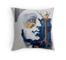 Cubo-Metaphysical Composition V Throw Pillow