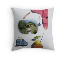 Cubo-Metaphysical Composition VIII Throw Pillow