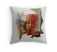 Cubo-Metaphysical Composition IX Throw Pillow