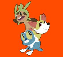 Gen VI Pokemon Starters Kids Clothes