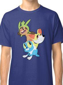 Gen VI Pokemon Starters Classic T-Shirt