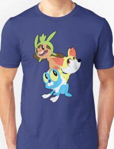 Gen VI Pokemon Starters T-Shirt