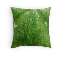 Jonquil Time Throw Pillow