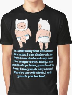 Baby Finn Adventure Time Graphic T-Shirt
