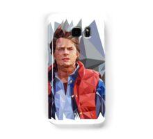 Marty McFly Polygons Samsung Galaxy Case/Skin