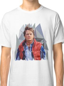 Marty McFly Polygons Classic T-Shirt