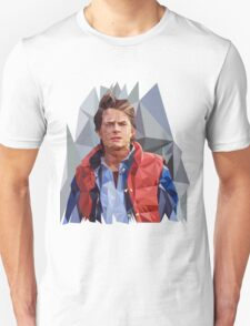 Marty McFly Polygons T-Shirt