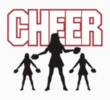 "Cheerleader ""CHEER"" by SportsT-Shirts"