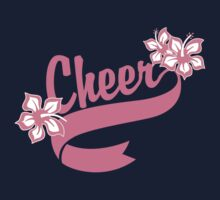 "Cheerleading ""Cheer"" Kids Clothes"