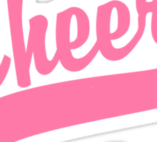 "Cheerleading ""Cheer"" Sticker"