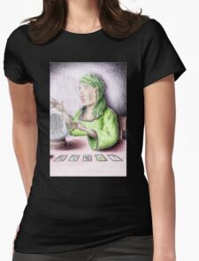 Fortune Teller Gypsy Womens Fitted T-Shirt