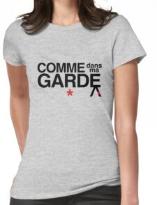 Come Into My Guard (Comme des garçons) Womens Fitted T-Shirt