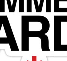 Come Into My Guard (Comme des garçons) Sticker