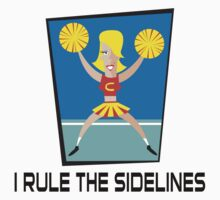 "Cheerleader ""I Rule The Sidelines"" Kids Clothes"