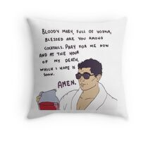 Archer & Bloody Mary Throw Pillow