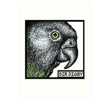 """Sir Digby, 2014"" Art Print"