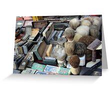 Shaving tools Greeting Card