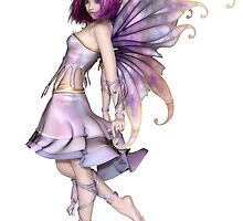 Pretty Purple Fairy by algoldesigns