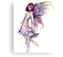 Pretty Purple Fairy Canvas Print
