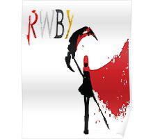 RWBY Rose Poster