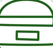 Who all seen the leprechaun - St. Patrick's Day Sticker