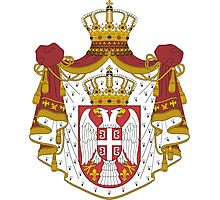 Coat of Arms of Serbia Photographic Print