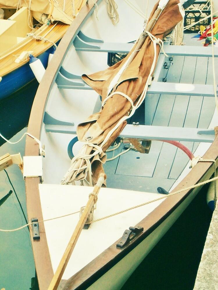 Little Wooden Boat by Judi Rustage