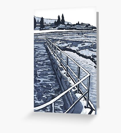 Austinmer Pool Greeting Card