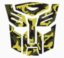 Autobot Camouflage  One Piece - Short Sleeve