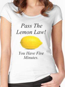 Lemon Law Women's Fitted Scoop T-Shirt