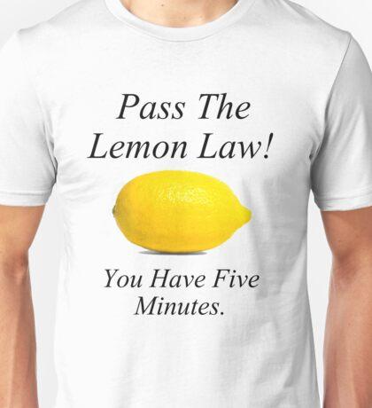 Lemon Law Unisex T-Shirt