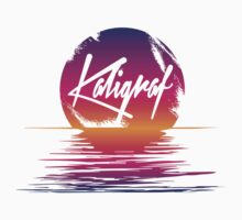 Kaligraf Logo Sunset by kaligraf